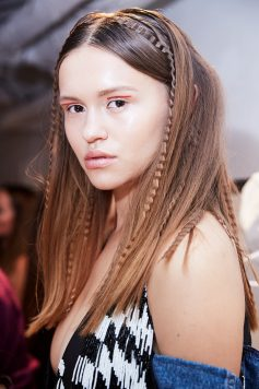 London Fashion Week Hair