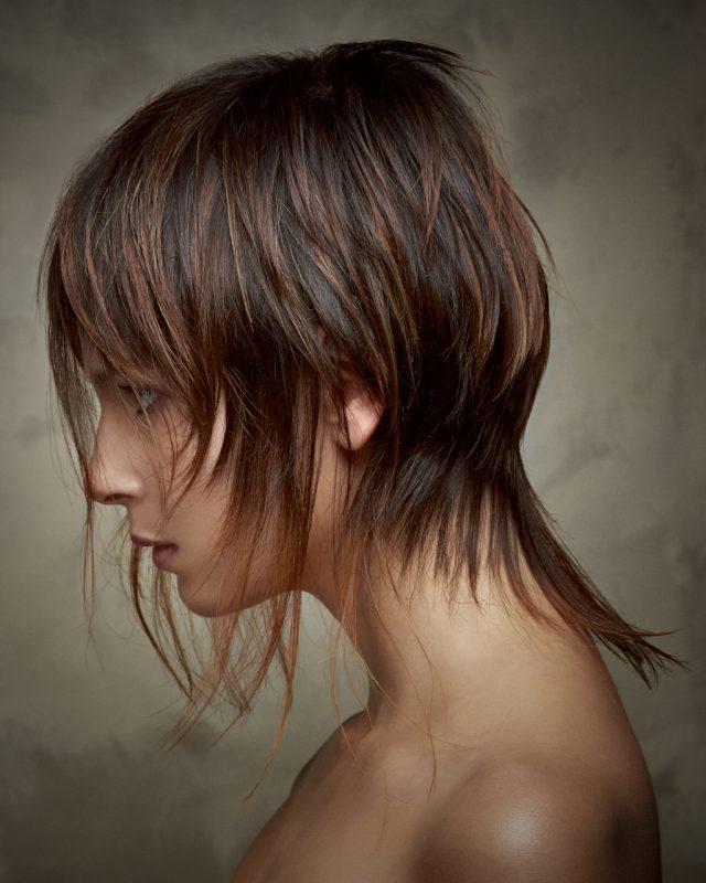 hair coloured salon