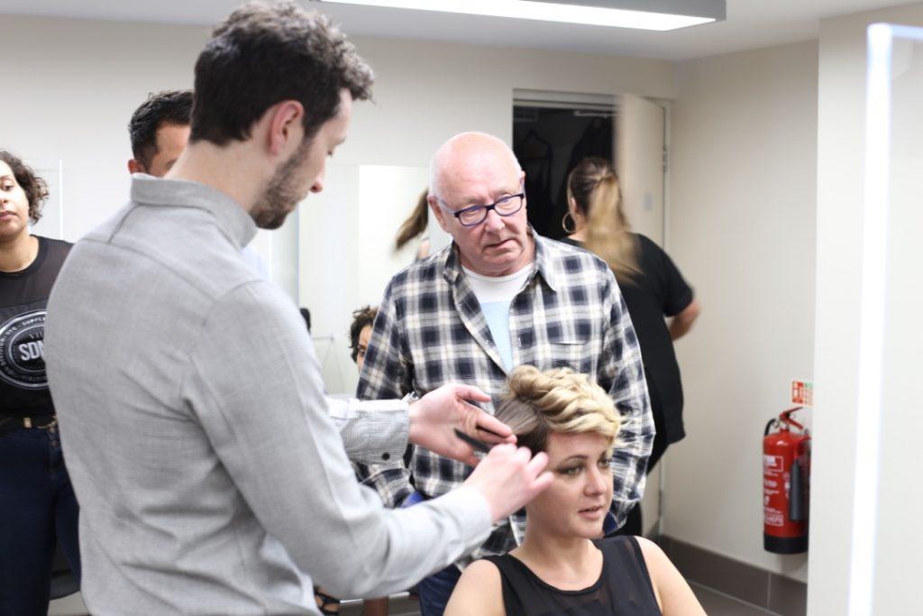 final test hairdressing
